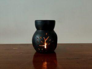 Double Baked Terracotta Oil Burner