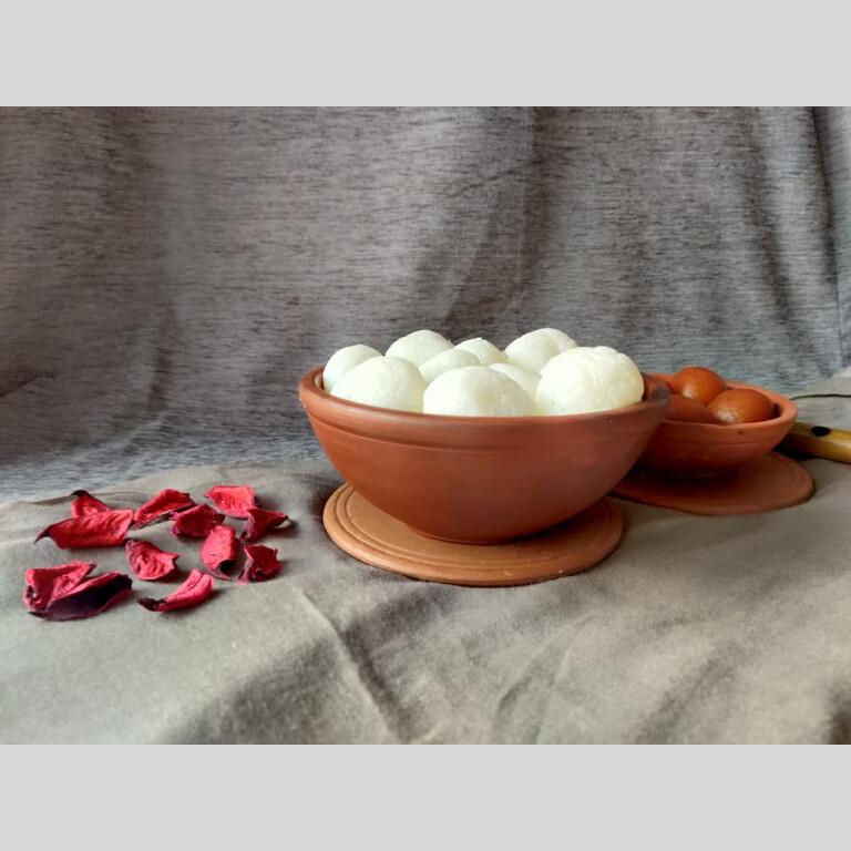 Terracotta Handmade Serving Bowl
