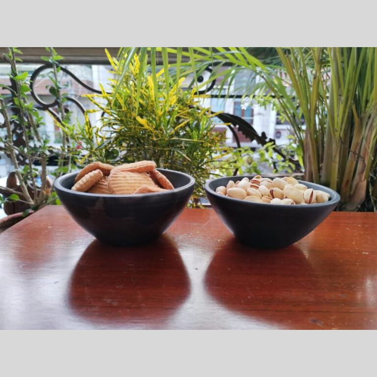 Terracotta Serving Bowl Double Baked