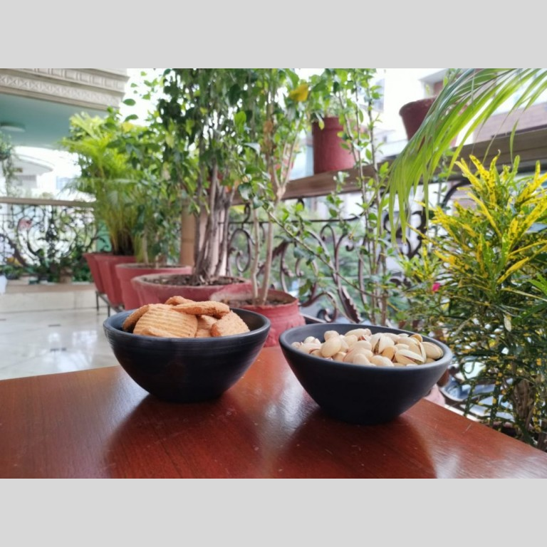 Terracotta Serving Bowl - Double Baked