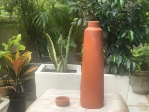 Terracotta Straight Bottle