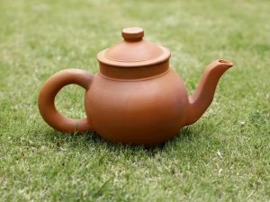 Terracotta Tea Kettle