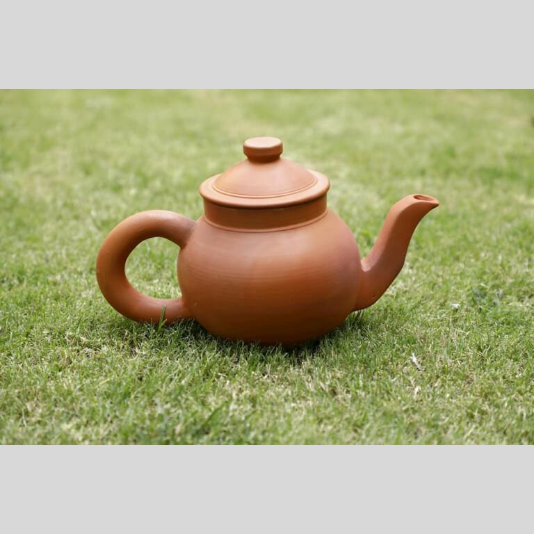 Terracotta Tea Kettle