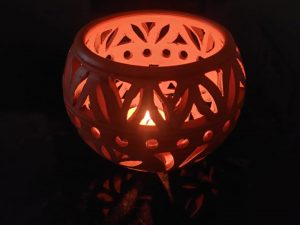 Terracotta Tea Light Candle Holder