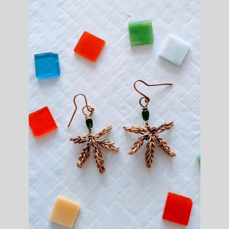 Marijuana Leaf Earrings | Marijuana Leaf Earrings |