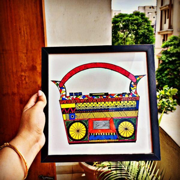 Radio Funky Frame