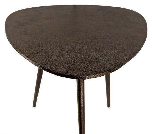 Oval Shaped Side Table