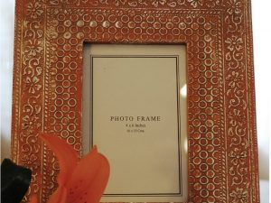 Rustic Red Photo frame