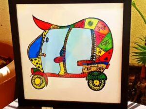 Auto Rickshaw Ride Frame