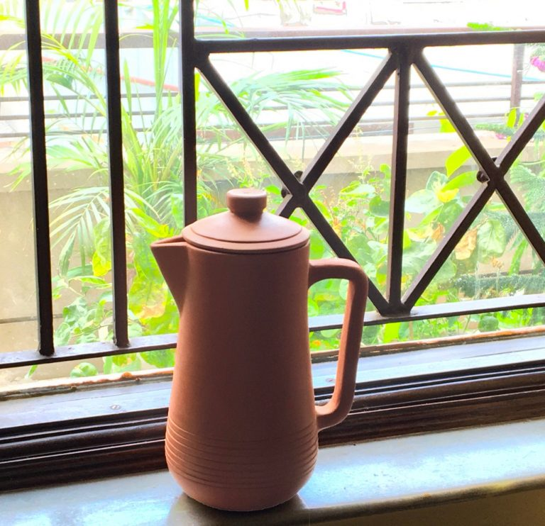 Eco-friendly Terracotta Water Jug with Lid ( 1.5L) photo review