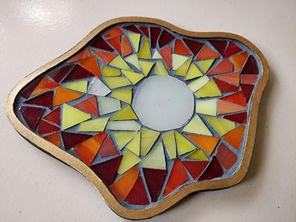 Tea light tray