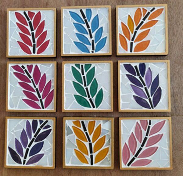 Leaf Coasters (Set of 4)   Leaf Coasters  