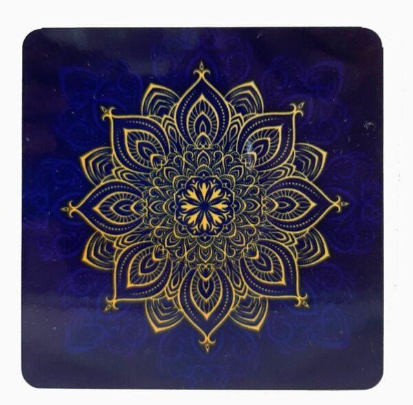 Blue Mandala Coasters | Blue Mandala Coasters |