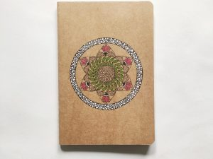 Mandala Art Diary | Artistic Book Cover | Tantric Buddhism
