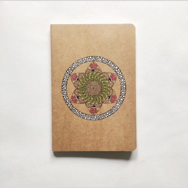 Mandala Art Diary | Artistic Book Cover | Tantric Buddhism