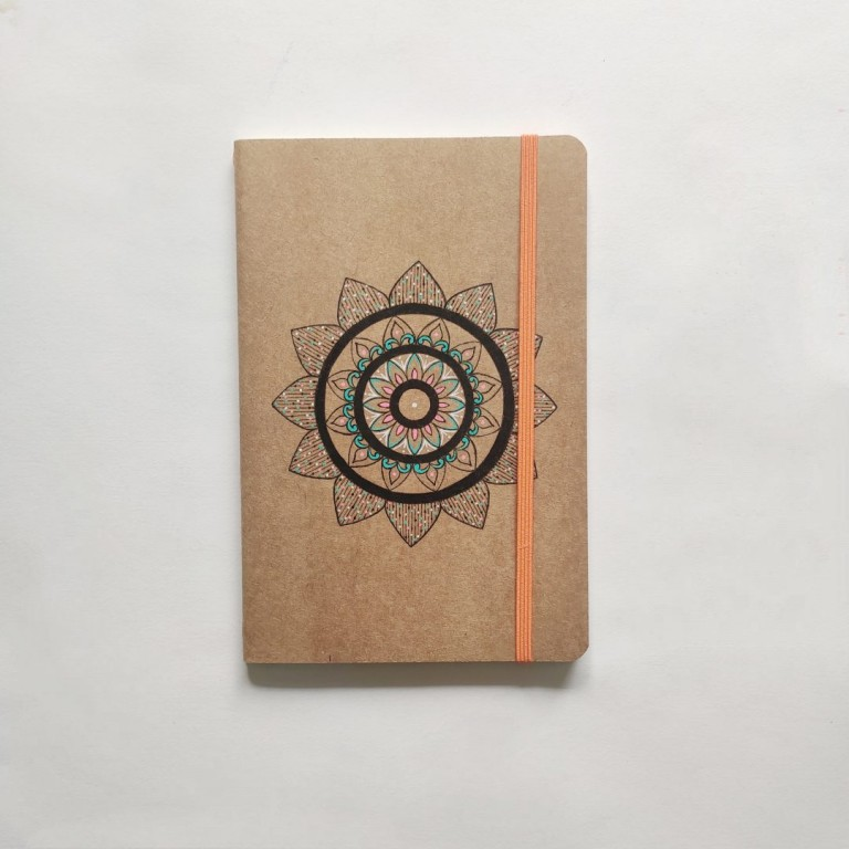 Coloured Mandala Diary   Coloured Mandala Diary  