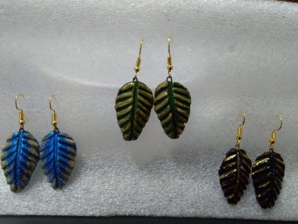 Leaf Earrings Combo of 3