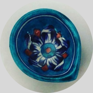 Ocean Light Ceramic Diyas