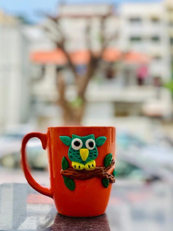 Walk in the Garden Theme - Owl Mug |
