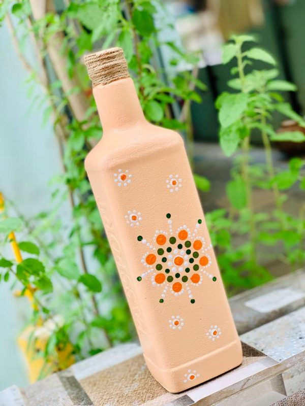 Dot Art Decorative bottle |