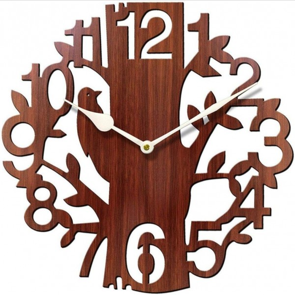 Crafts Wooden Wall Clock