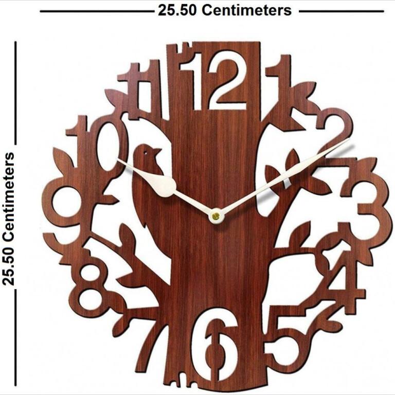 Crafts Wooden Wall Clock   Crafts Wooden Wall Clock  