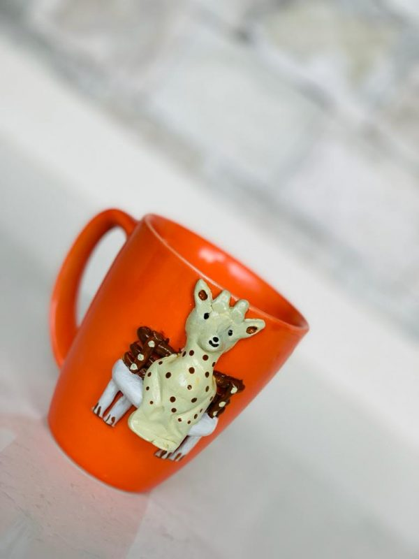 Walk in the Garden Mug - Giraffe |