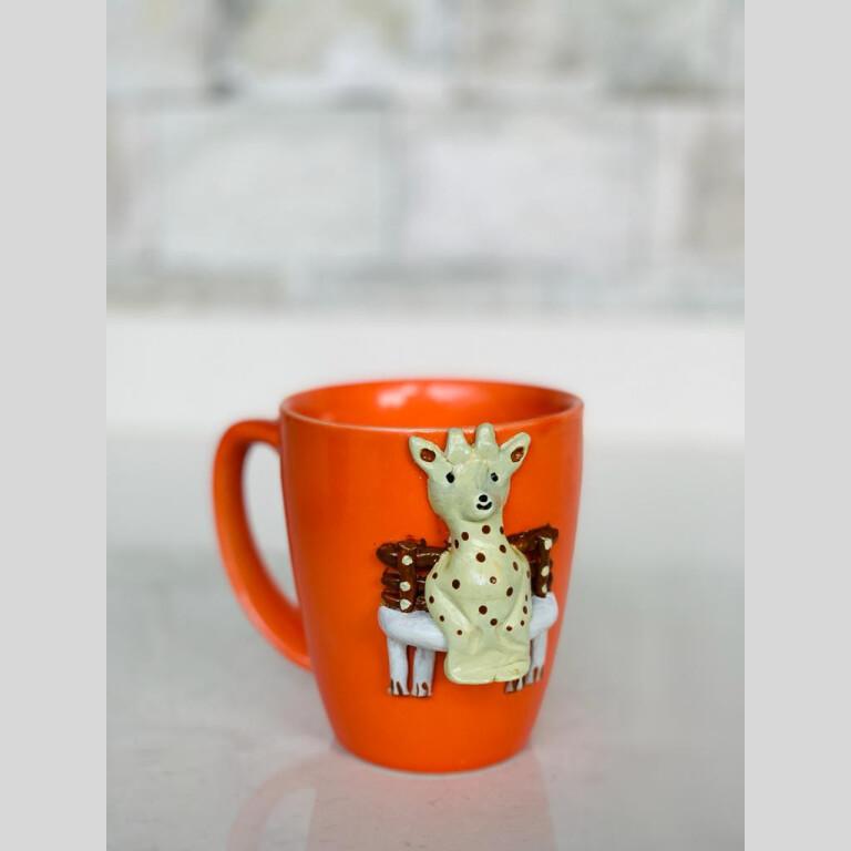 Walk in the Garden Mug - Giraffe  