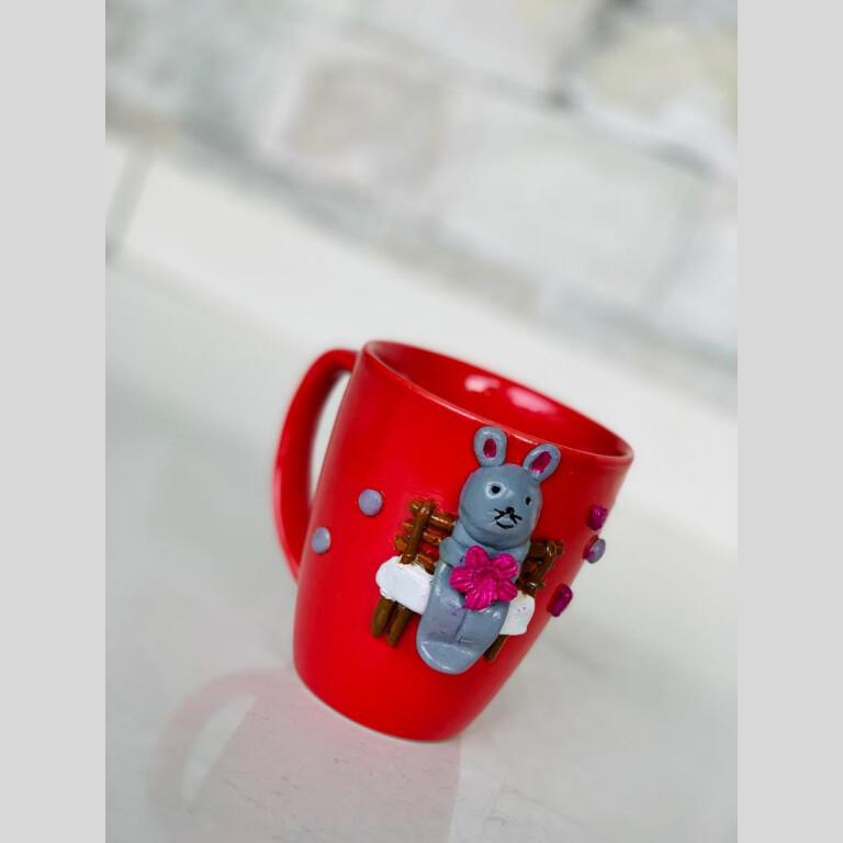 Walk in the Garden Mug - Rabbit (Bunny) |