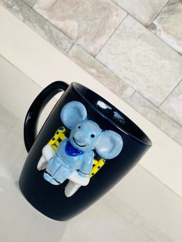 Walk in the Garden Mug - Elephant Mug |