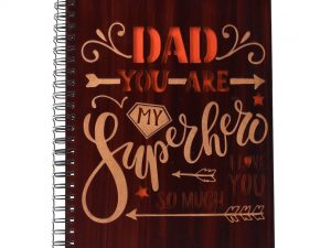 Dad Printed Notebook