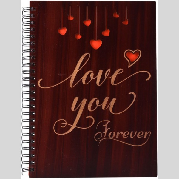 Love You Forever Printed Notebook