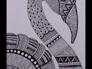 Mandala Art Handmade Painting