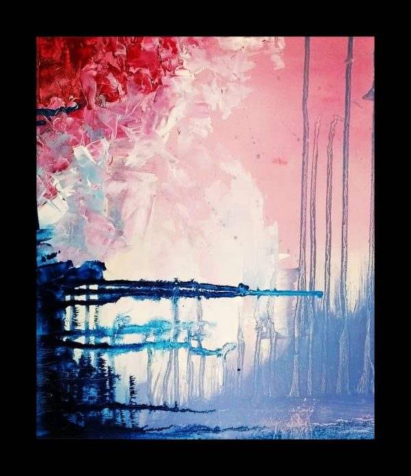 Abstract Handmade Painting