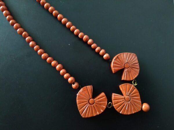 Terracotta Clay Neckpiece