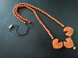 Terracotta Clay Neckpiece