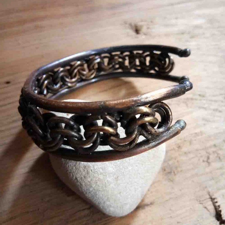 Chainmaille Cuff  