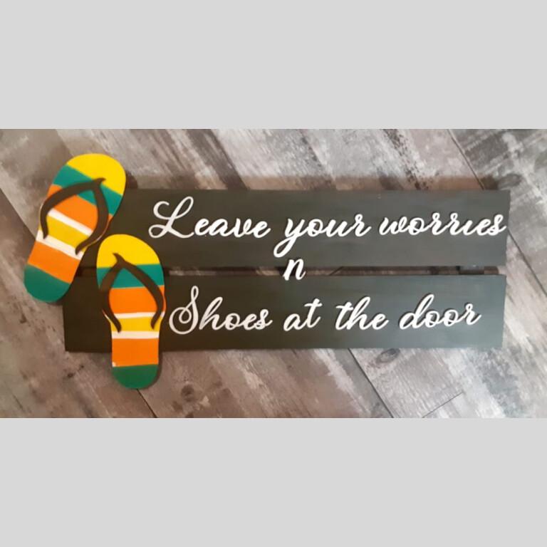 Drop Shoes Signage