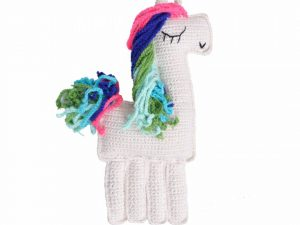 Amigurumi Multi Colour Ragdoll Unicorn