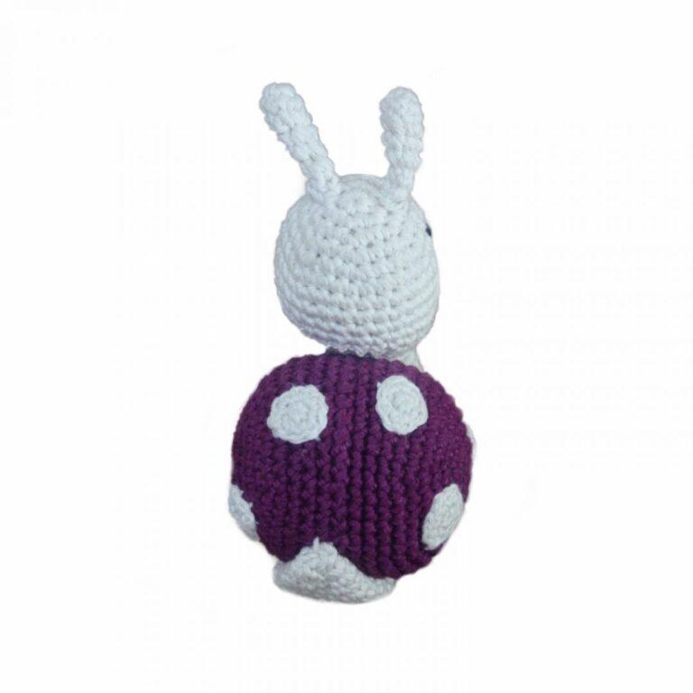 Handcrafted Amigurumi Snail Rattle