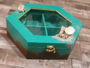 Teal Storage Box