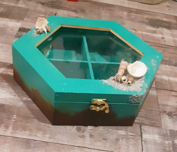 Teal Storage Box