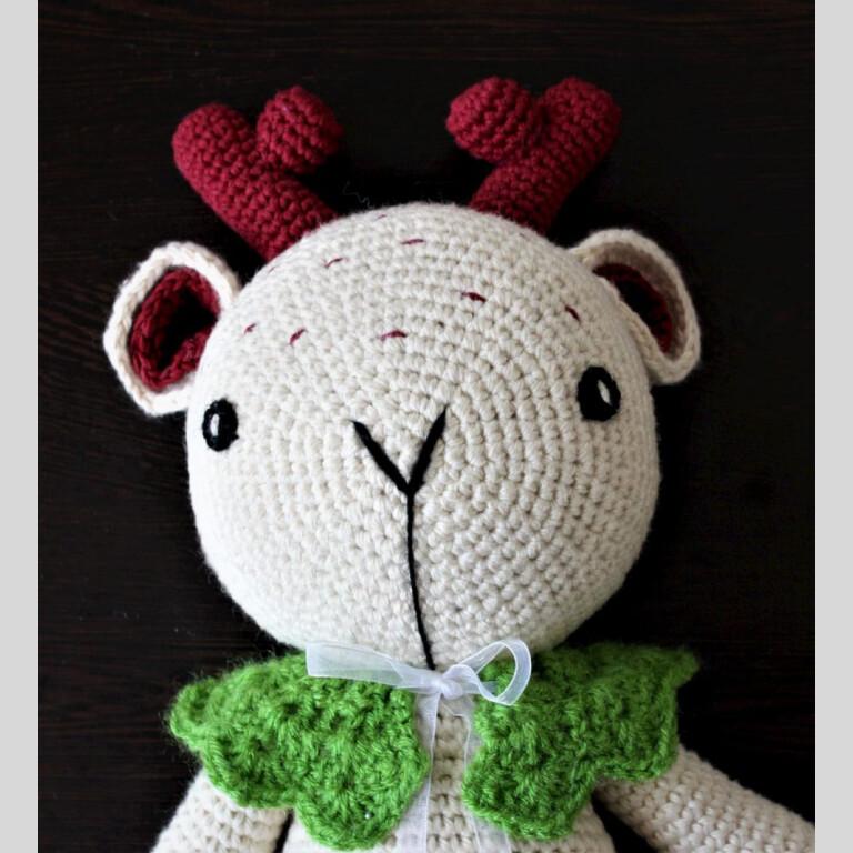 Handmade Amigurumi Cuddles - The Deer | Handmade Amigurumi Cuddles |