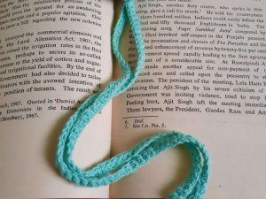 Handcrafted Amigurumi Monster Bookmark