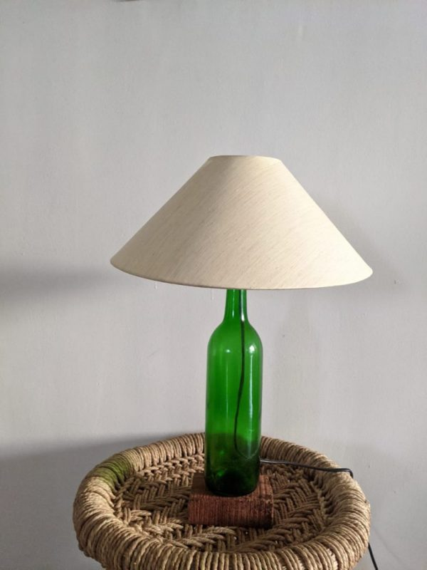 Upcycled Bottle Lamp | Upcycled Bottle Lamp |