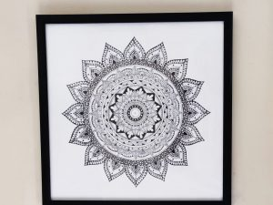 Framed Mandala Wall Art