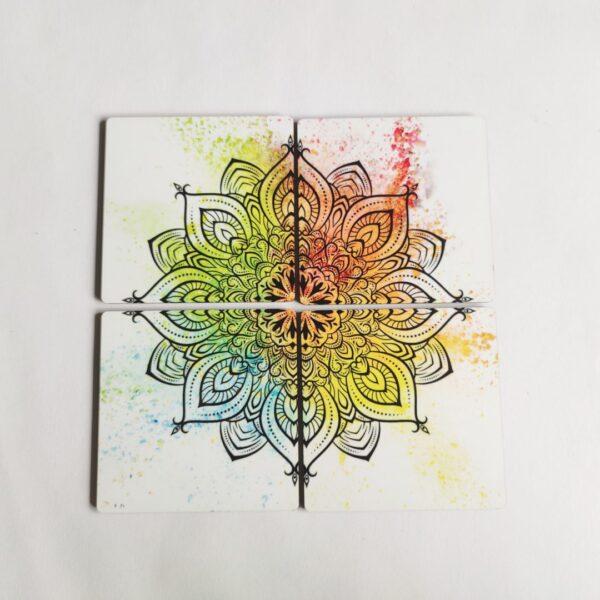 Colourful Mandala Coasters | Colourful Mandala Coasters |