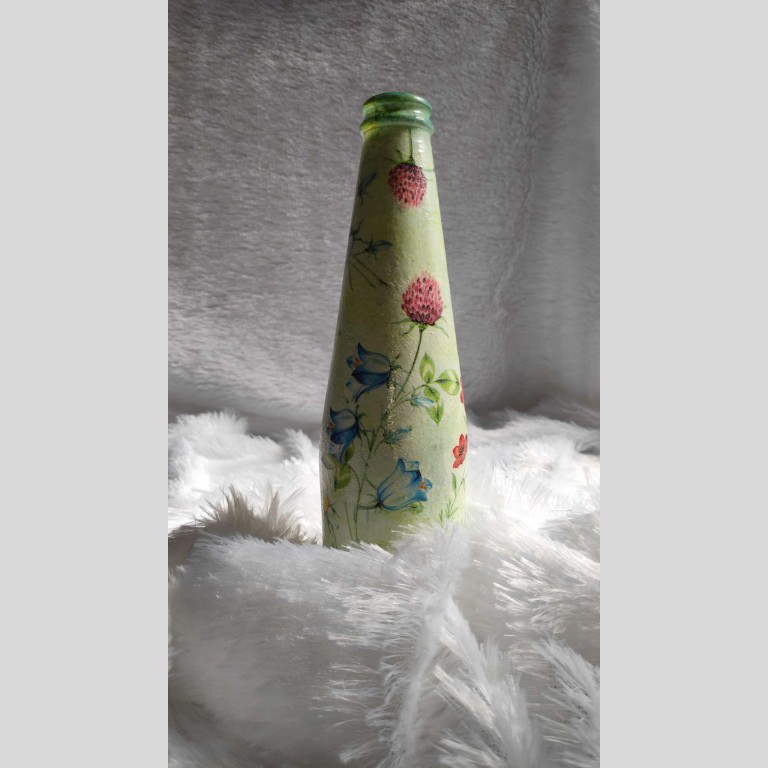 Glass Decor Bottle