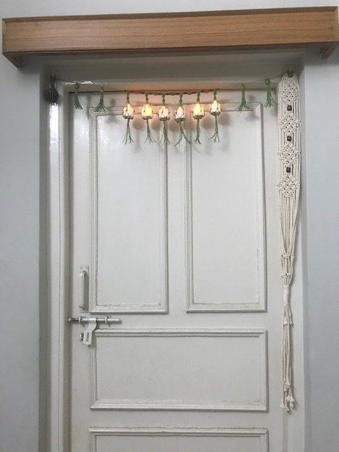 Diwali Special - Diya Door Garland |