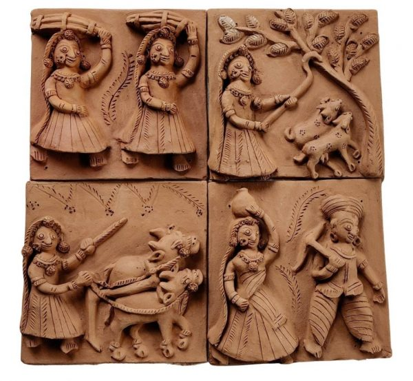 Village Tales Terracotta Plaques